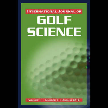 International Journal of Golf Science